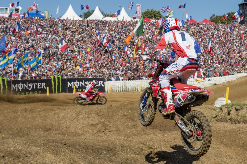 Team HRC riders represent France and Russia at the Nations