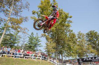 Evgeny Bobryshev at the Motocross of Nations