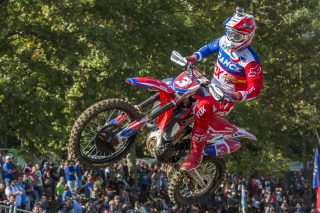 Gautier Paulin at the Motocross of Nations