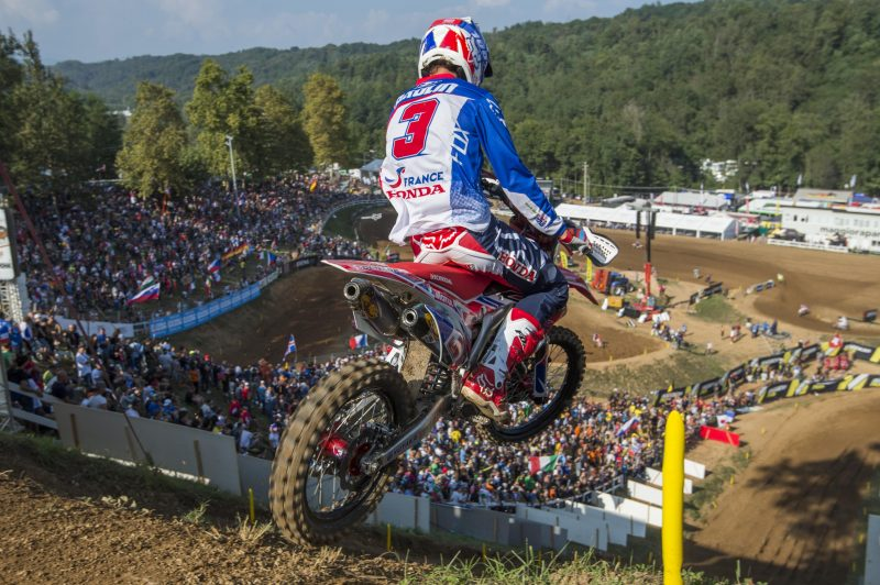Paulin second in Open class as Team France lead the way
