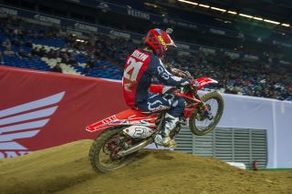 Gautier Paulin at the SMX