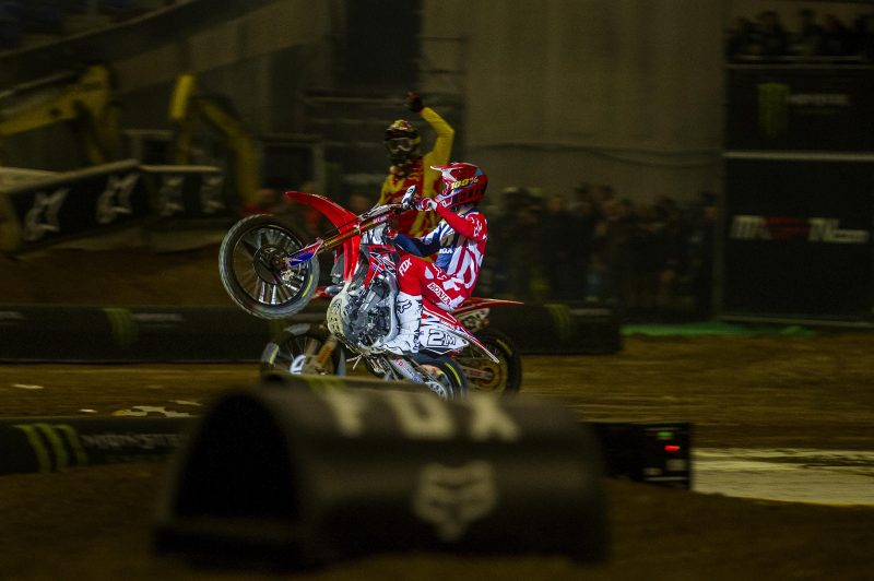 Team Honda finish second in inaugural Supermotocross Riders' and Manufacturers' Cup