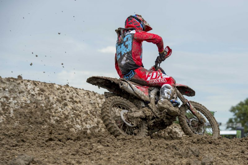 Difficult day in the office for HRC MXGP