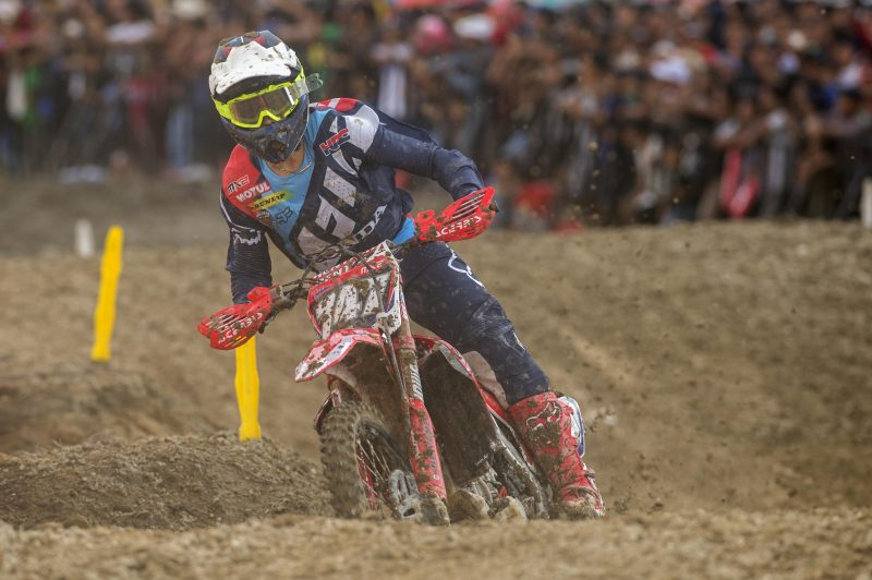 Team HRC MX2; picking up the pace for Patagonia.