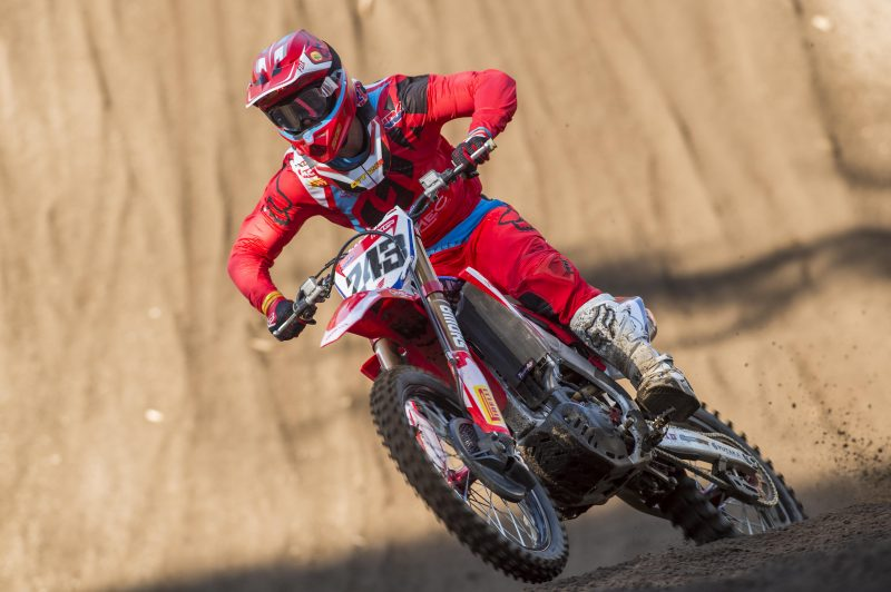 Gajser wins Argentinean MXGP Qualifying race.
