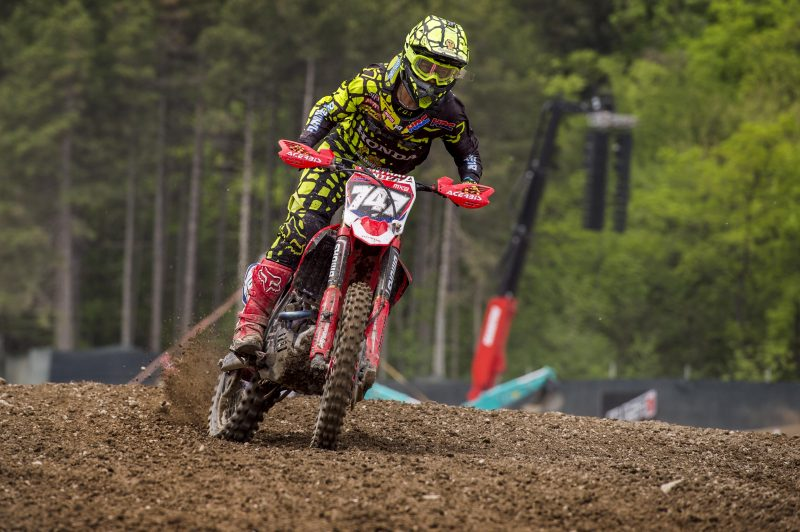 New face for HRC MX2 heading into Valkenswaard