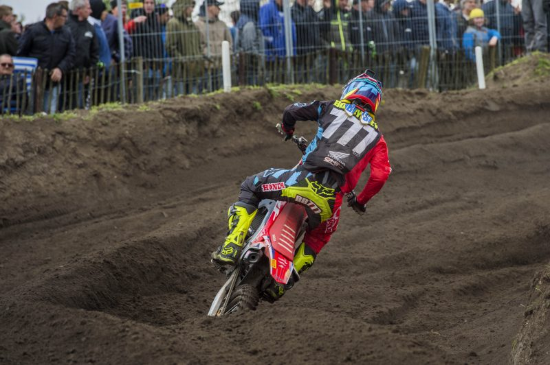 Tough day in qualifying at the MXGP of Europe for Team HRC