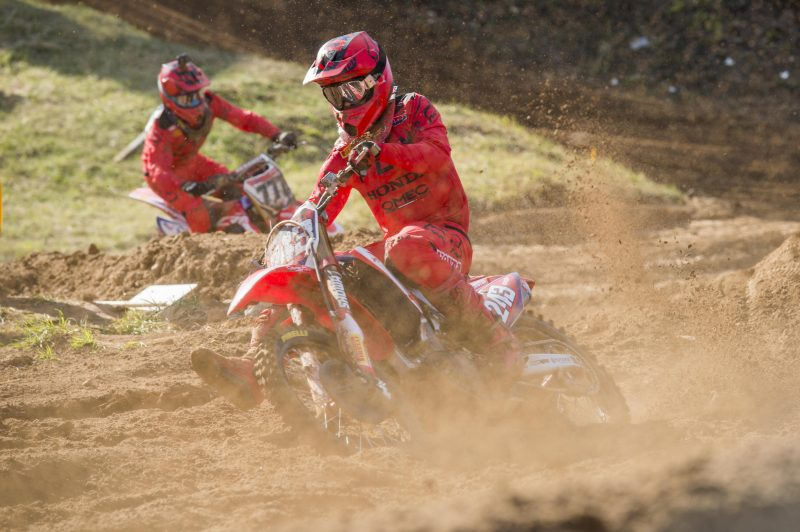 Team HRC MXGP go fourth, fifth in Kegums qualifying