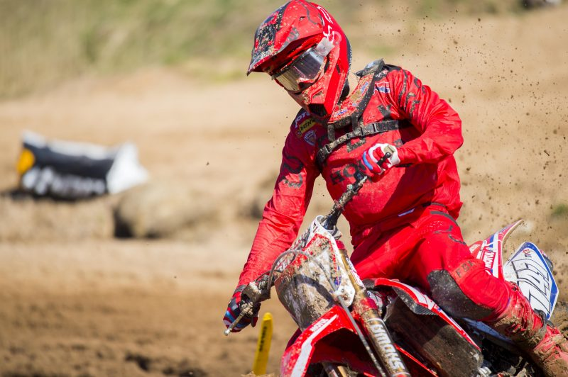 Disappointment in Kegums for HRC MX2