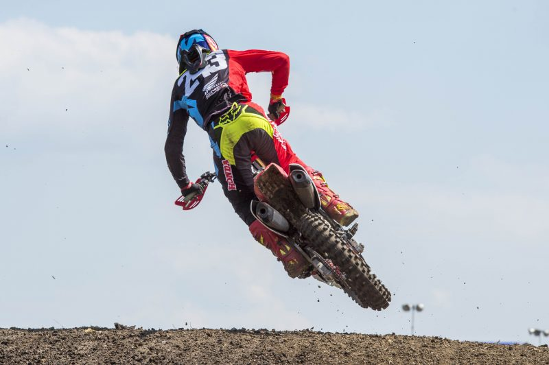Team HRC move swiftly onto the MXGP of France