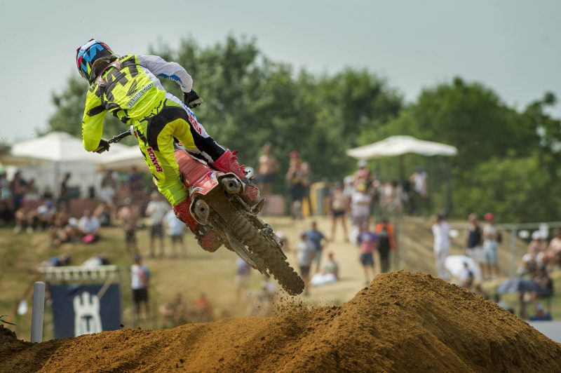 An educational day for HRC MX2