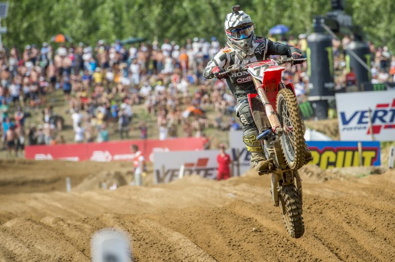 Team HRC head straight to Portugal for round 12 of MXGP