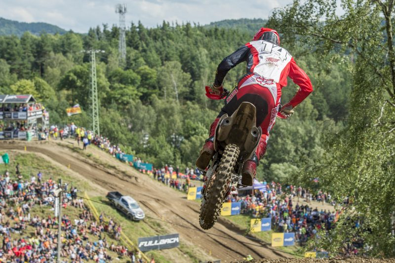 Beaton makes solid debut with HRC MX2