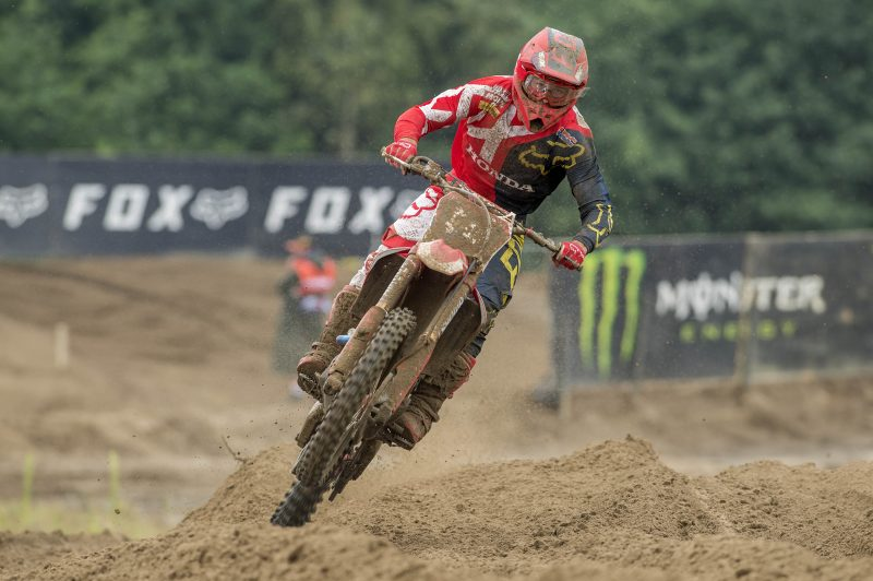 Steady start for HRC MX2 in Lommel