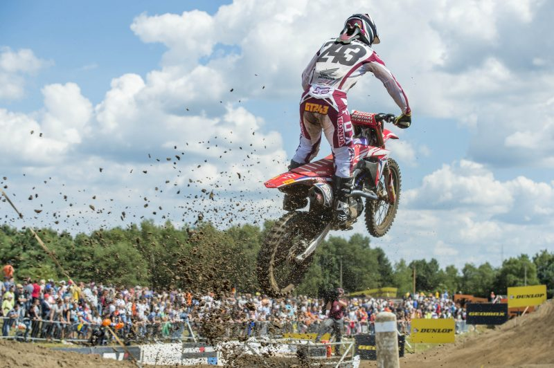 Gruelling weekend for Team HRC at the MXGP of Belgium