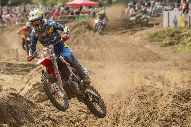 Frustrating day for HRC MX2