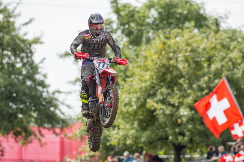 First turn crash hinders team HRC MXGP's qualifying hopes