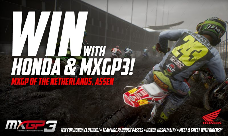 Play MXGP3 and win!