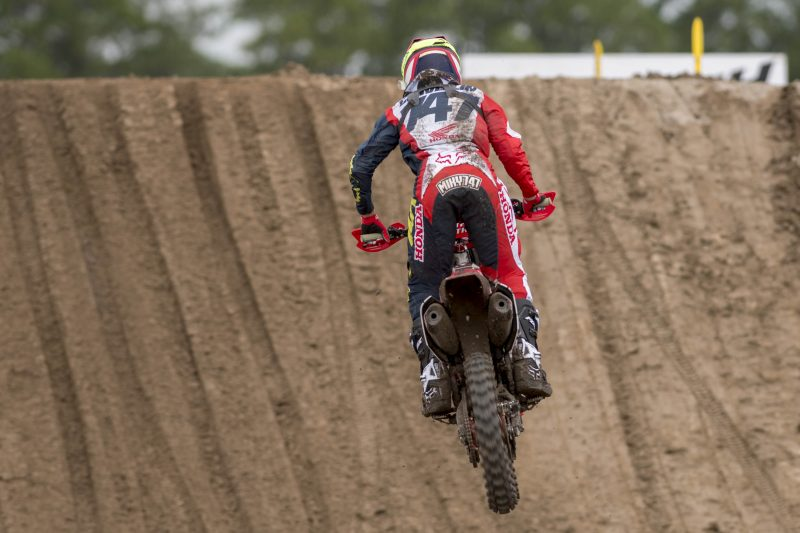 Team HRC MX2 head to the gold sands of Assen