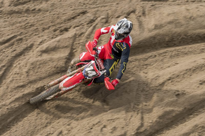Beaton heads to season finale with Team HRC MX2