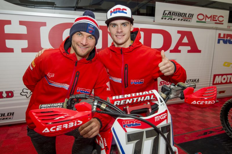 Team HRC riders represent Slovenia and Russia at the Nations