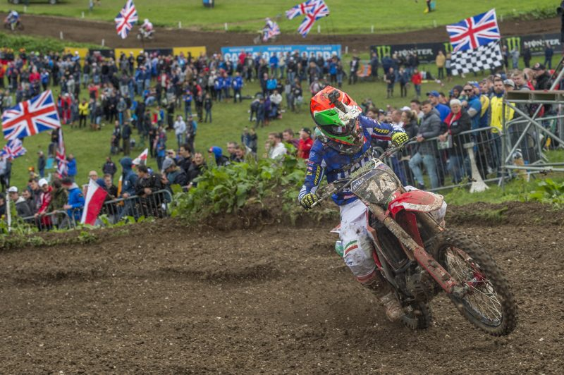 Cervellin helps Team Italy to qualifying eighth at 2017 Motocross of Nations