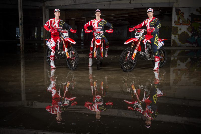 Team HRC is ready for the 2018 MXGP season