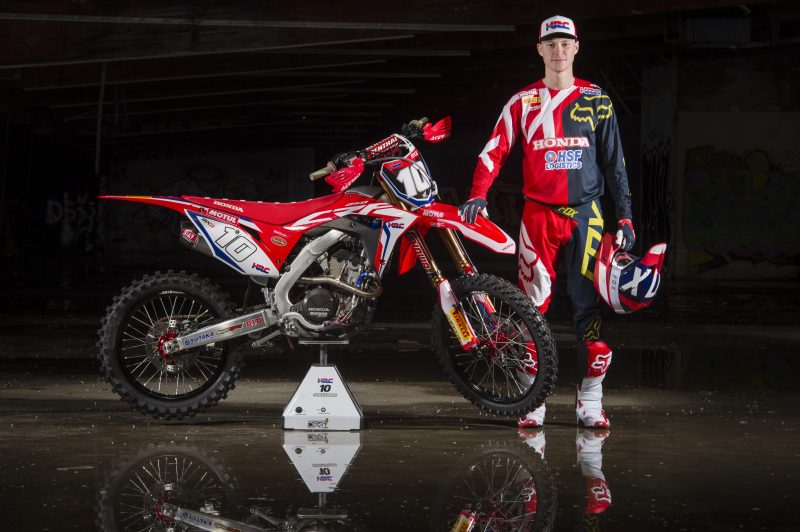Team HRC ready for 2018 MXGP debut in Argentina