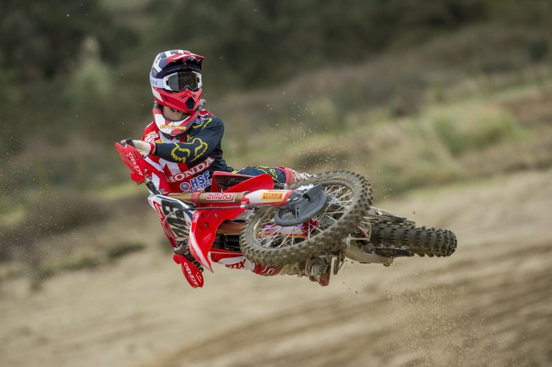 Gajser prepares for MXGP action as Team HRC heads to Valkenswaard