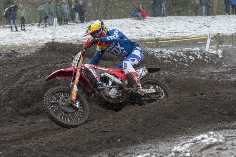 Eleventh place for Vlaanderen in MX2 qualifying race at Valkenswaard