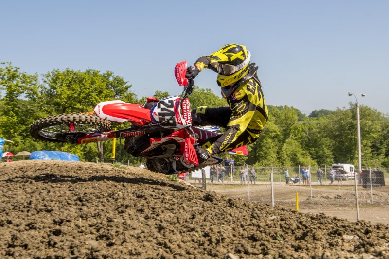 Solid overall race performance for Gajser at Orlyonok