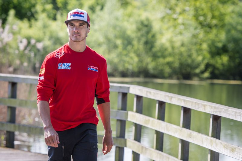 Todd Waters joins Team HRC to step in for the injured Brian Bogers