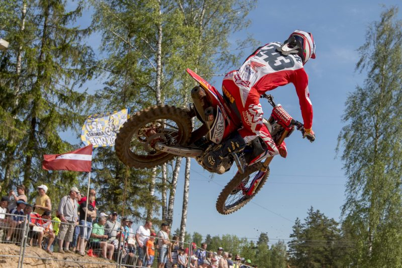 Gasjer bags fifth place in demanding MXGP of Latvia