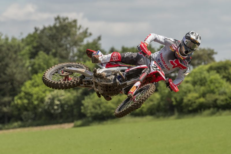 Gajser fourth at the line in UK MXGP qualifying race