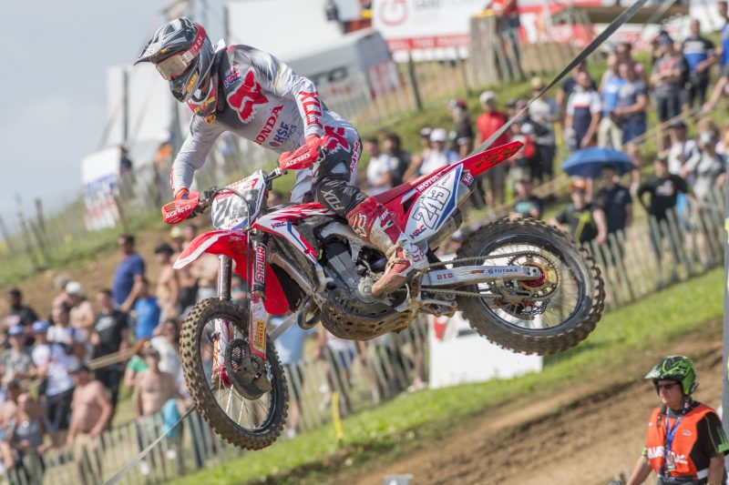 Gajser qualifies fifth in MXGP of France