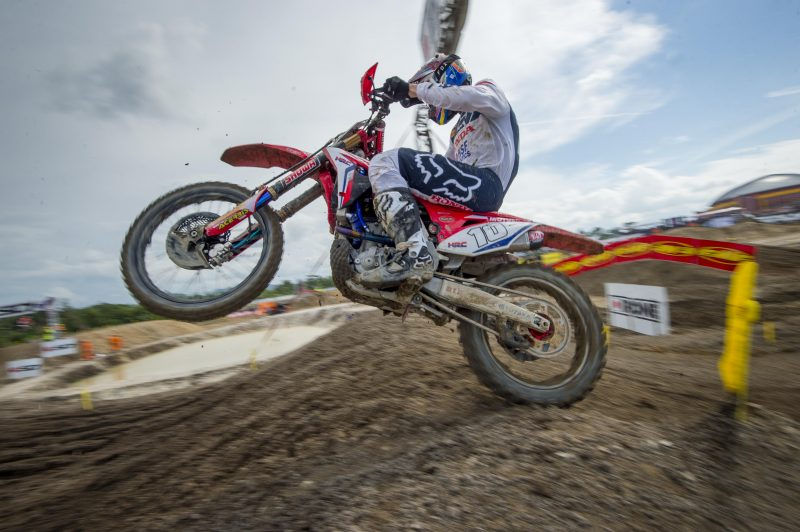 Vlaanderen in control in MX2 Indonesian qualifying race