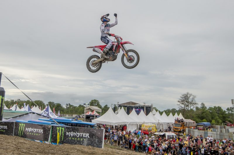 Vlaanderen and the Honda CRF250RW atop the podium in Indonesia