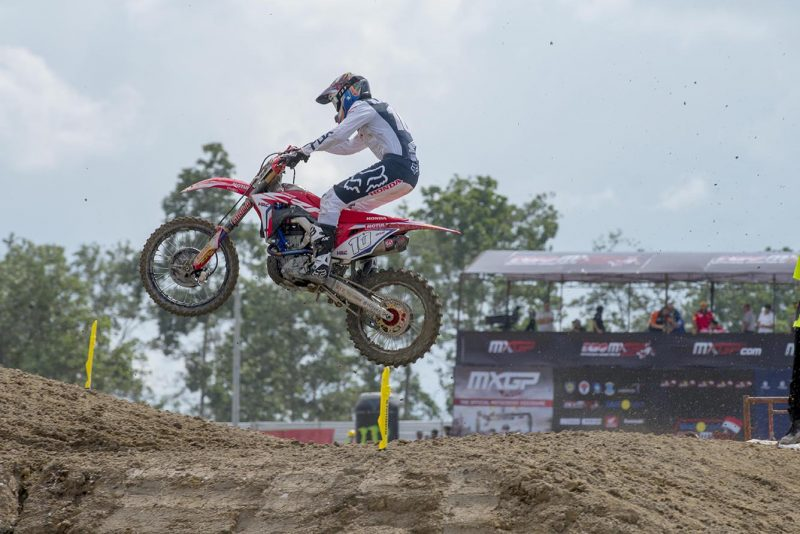 Team HRC back to business at new Indonesian track of Semarang