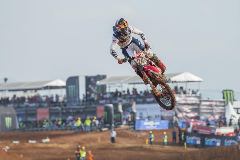 Gajser a convincing second in MXGP of Asia qualifying