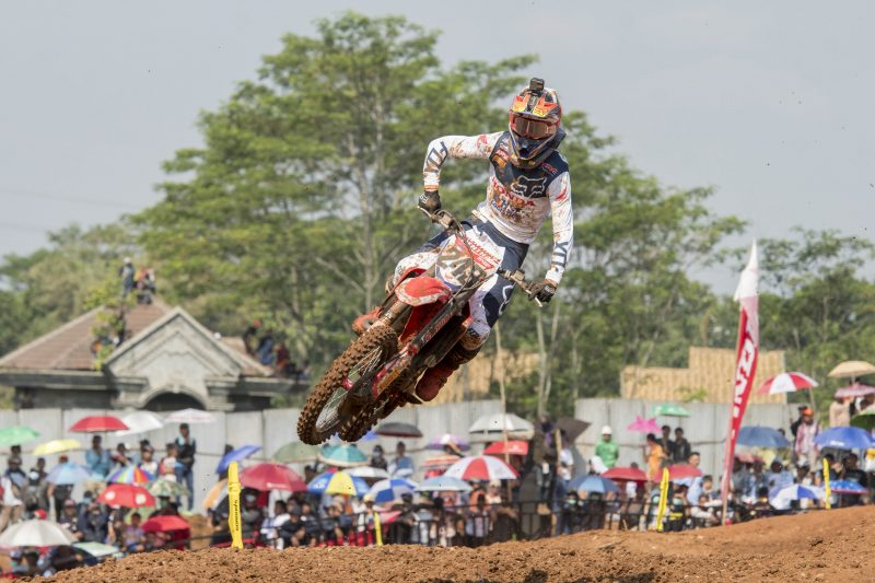 Gajser wraps up Indonesian trip with second place overall