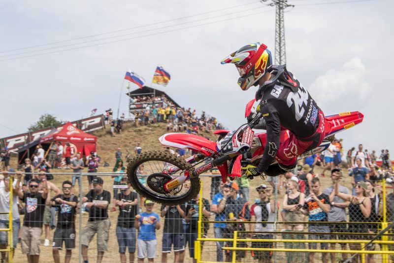 Top-three qualifying result for Gajser in Czech Republic