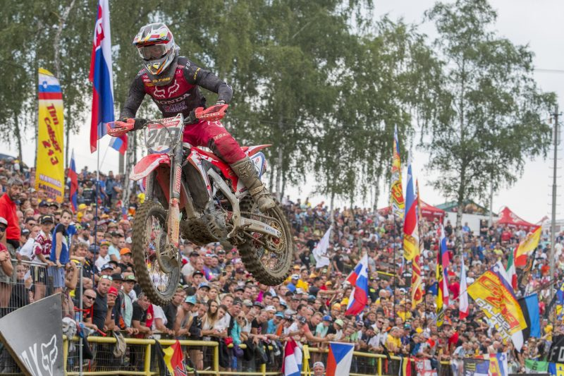 Gajser scores back-to-back podiums with third overall at Loket