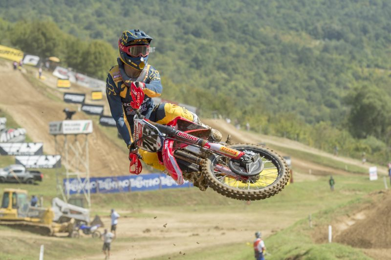 Second place for Gajser in qualifying at Sevlievo