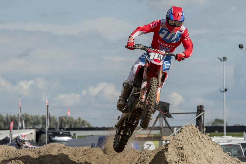 Vlaanderen begins MXGP of the Netherlands with second place in qualifying