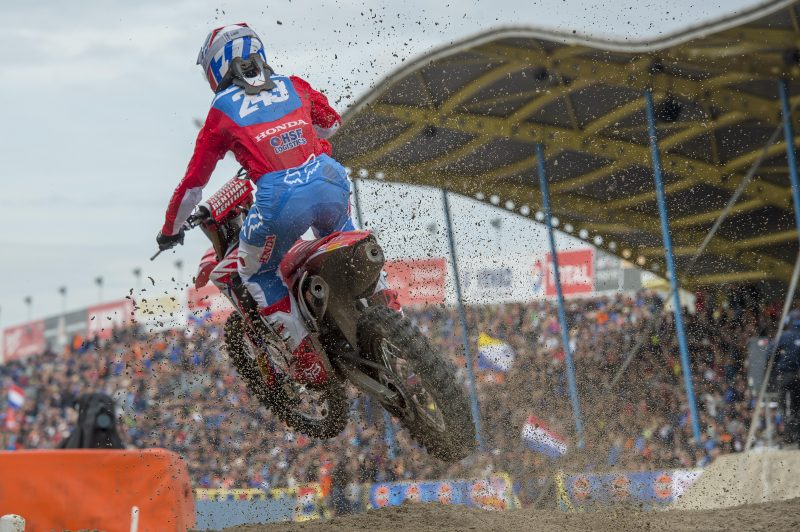 Solid fifth at sandy Assen for Gajser as Bogers takes first MXGP points