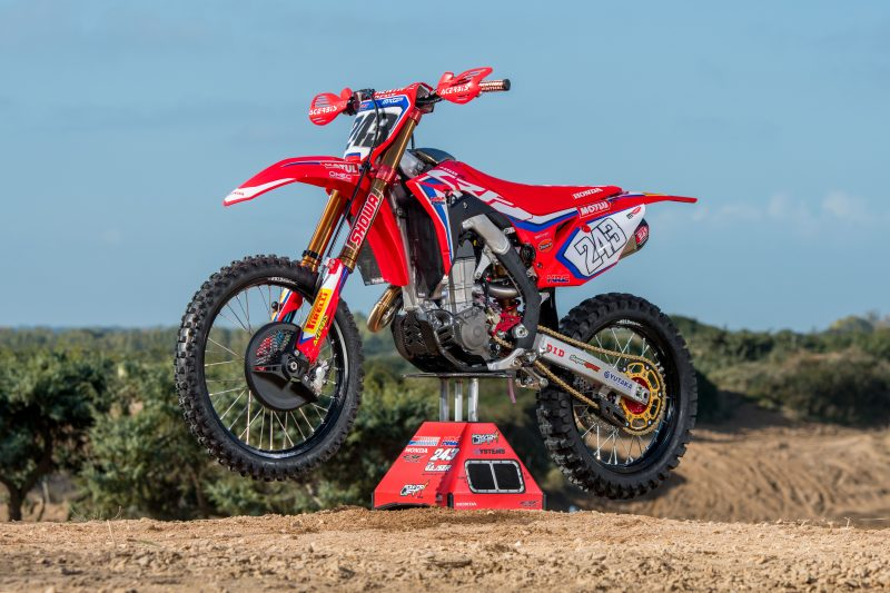The Science of a CRF – with the HRC CRF450RW