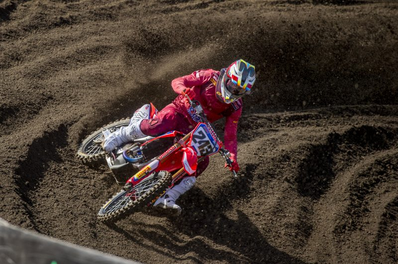 Holeshot for Gajser in round one qualifier
