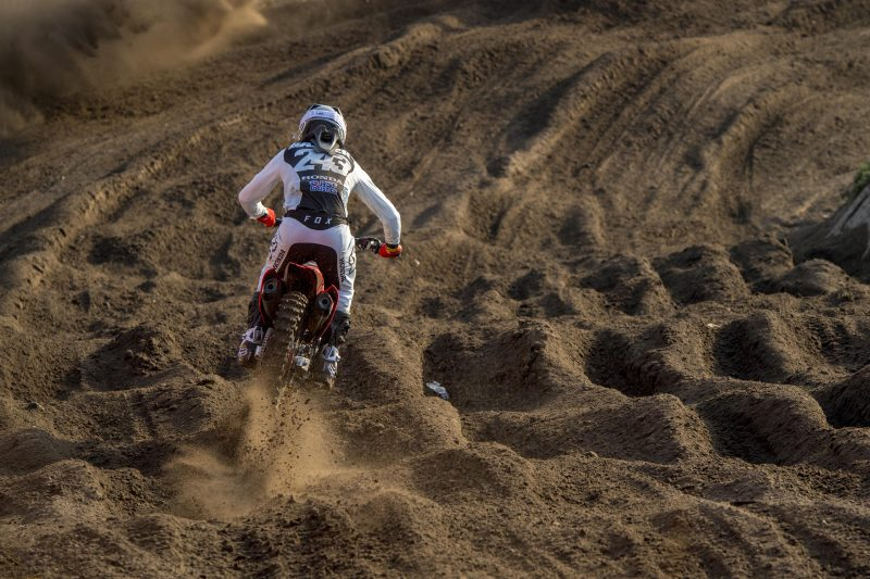 Gajser second in MXGP of the Netherlands qualification