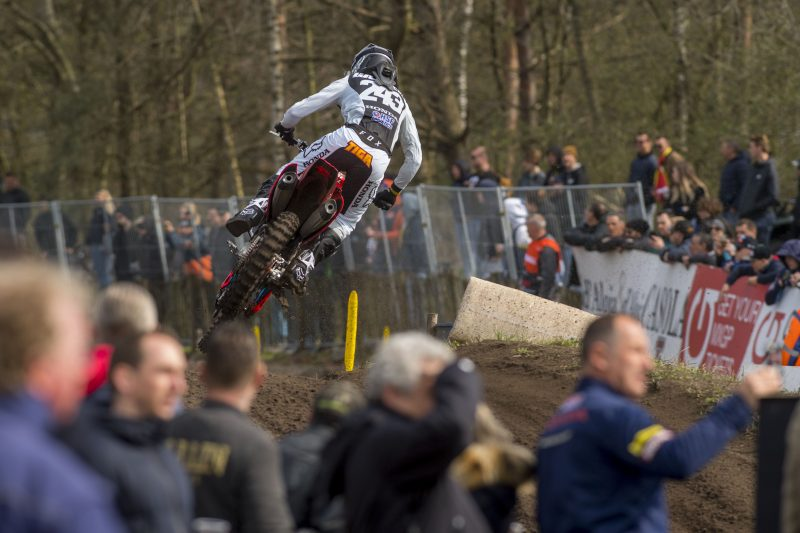 Gajser continues his podium streak at the MXGP of the Netherlands