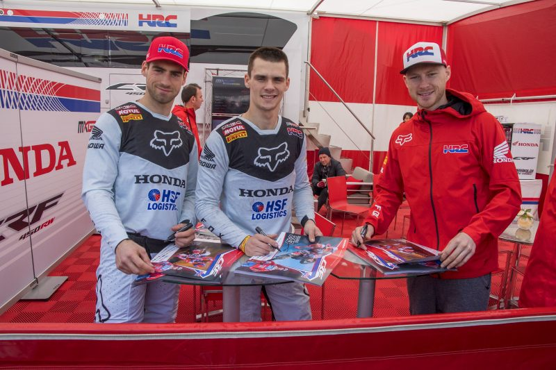 Third weekend in a row for Team HRC at the MXGP of Trentino